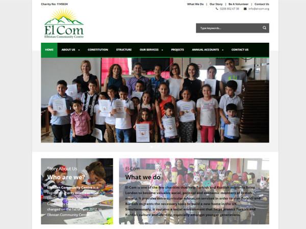 Elbistan Community Centre Web Site – en