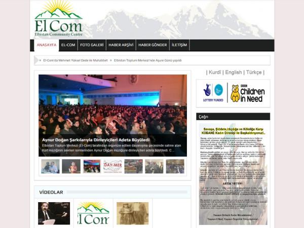 Elbistan Community Centre Web Site – tr
