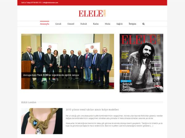 Elele London Website