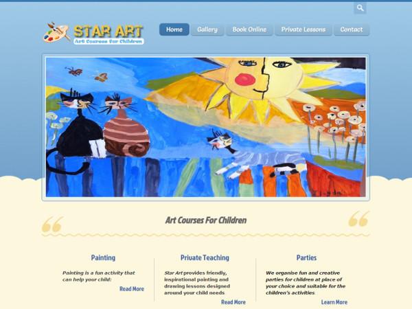 Star-Art Web Site