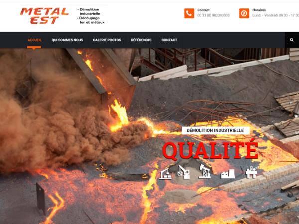 Metal-Est Web Site