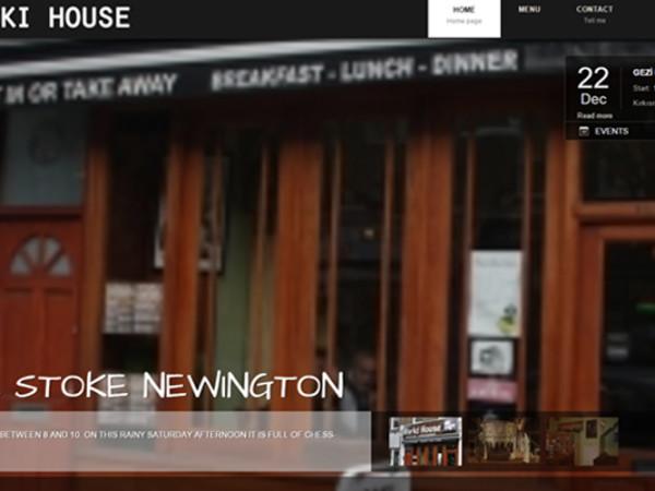 Gorki House Web Site